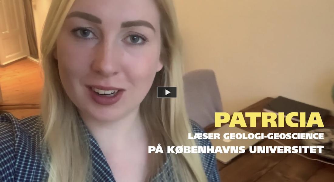 Dagbogsvideo om det faglige på bacheloruddannelsen i geologi-geoscience