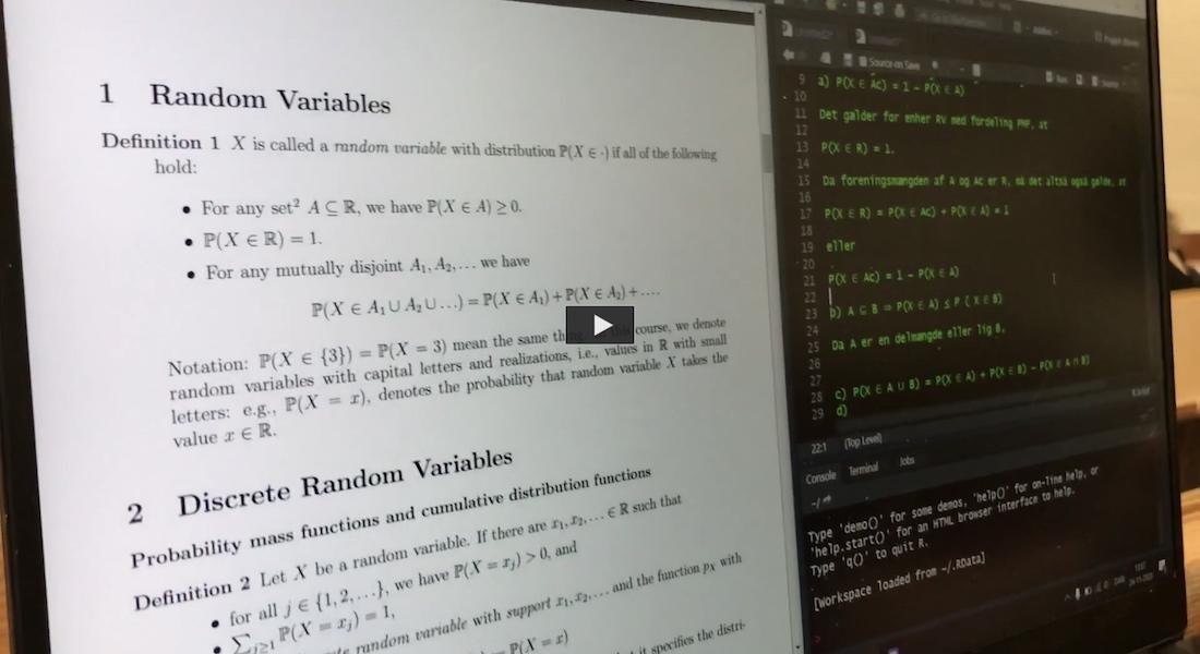 Dagbogsvideo om det faglige på bacheloruddannelsen i machine learning og datavidenskab